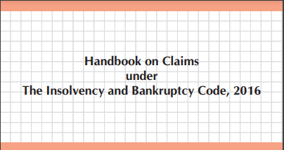 Claims under The Insolvency and Bankruptcy Code, 2016